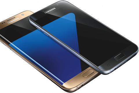 Ảnh dựng được cho là Galaxy S7 và S7 edge.