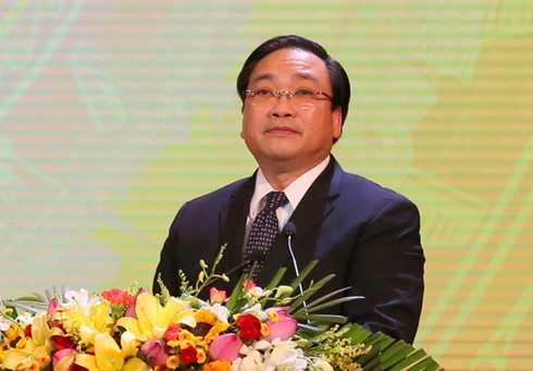 Tân Bí thư Hà Nội Hoàng Trung Hải.