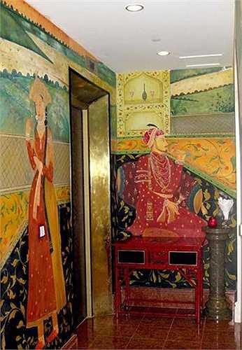 Những bức tranh trang trí trong nhà ấn tượng.