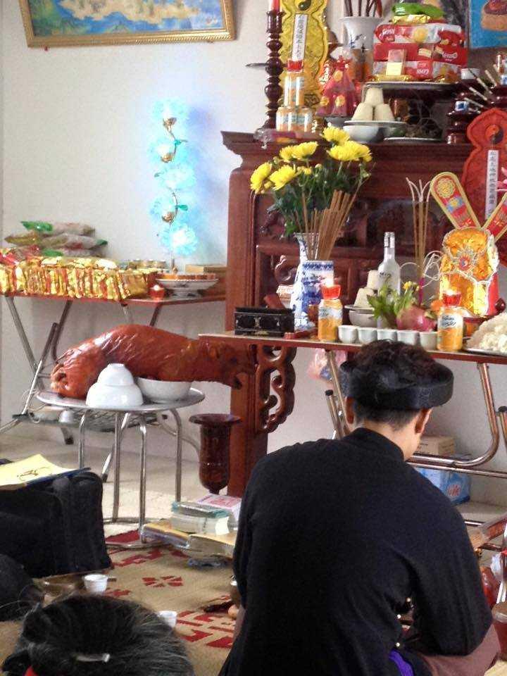 Một chung cư khác ở đường Tô Hiệu, Hà Đông chi tiền mời thầy cúng tất niên