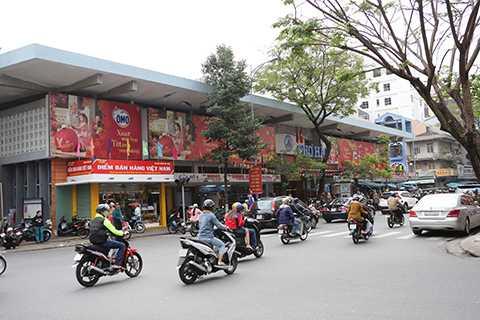 Chợ Hàn vắng vẻ ngày cuối năm