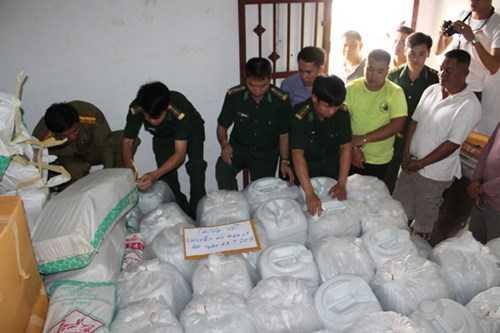 5,5 tấn ma túy bị thu giữ