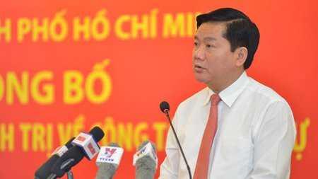 Bộ trưởng GTVT Đinh La Thăng được Bộ Chính trị phân công làm Bí thư Thành uỷ TP.HCM. Ảnh: Đinh Tuấn