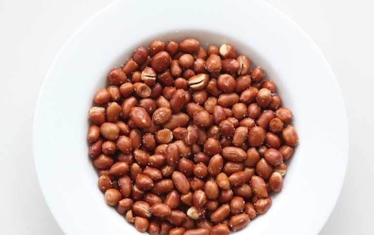 Hạt đậu phộng: Ngày Tết, bạn cũng chuẩn bị những bát đậu phộng   (lạc) rang thơm, bùi để đãi khách, đằng sau đó là những giá trị dinh   dưỡng và sức khỏe mà bạn chưa biết về loại hạt này. Nhân lạc có các chất   protein, chất dầu béo, amino acid: lecithin, purin, alkaloid, calcium,   phosphore, sắt. Chất lysin trong hạt lạc có tác dụng phòng ngừa lão suy   sớm và giúp phát triển trí tuệ của trẻ em. Axit glutamic và aspartic   thúc đẩy sự phát triển tế bào não và tăng cường trí nhớ, ngoài ra chất   catechin trong lạc cũng có tác dụng chống lão suy.