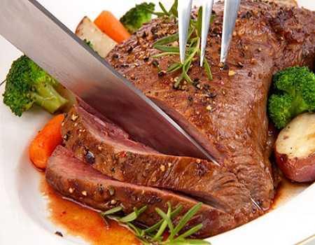 Nên hạn chế ăn thịt bò với đậu đen