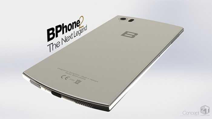 Bphone 2 có thiết kế khá tương đồng với Bphone
