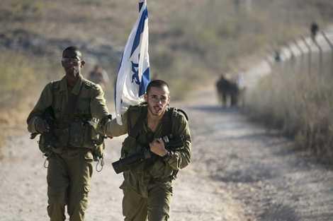 Một trong những bài tập kinh khủng của Israel là cuộc hành quân gần 60km