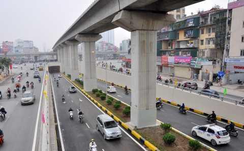 Nhờ hầm chui Thanh Xuân, áp lực giao thông tại ngã tư Nguyễn Trãi - Khuất Duy Tiến đã được giảm