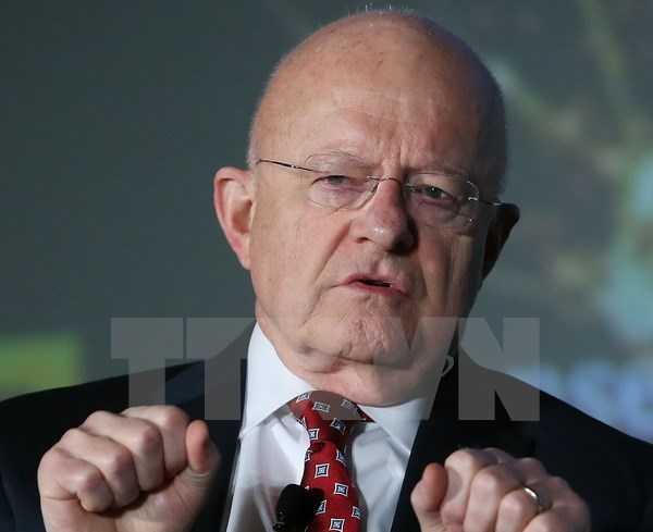 Giám đốc Cơ quan tình báo quốc gia Mỹ, James Clapper - Ảnh: TTXVN