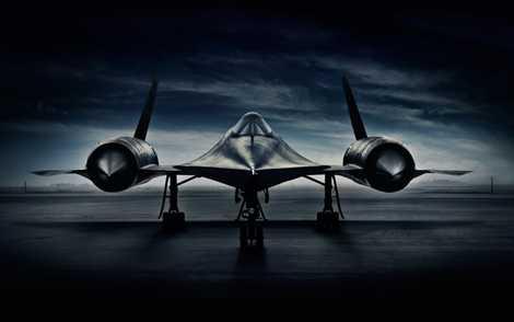 Chim đen SR-71 của quân đội Mỹ nhìn như một tác phẩm nghệ thuật