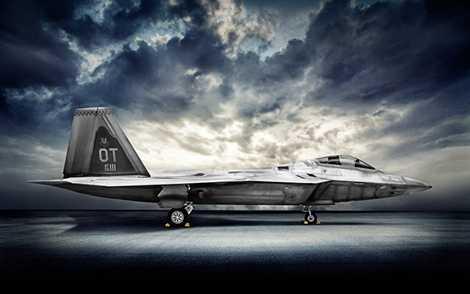 Vì là máy bay tàng hình nên hình dáng của F-22 được hạn chế góc cạnh, gồ ghề, tránh phản xạ với radar