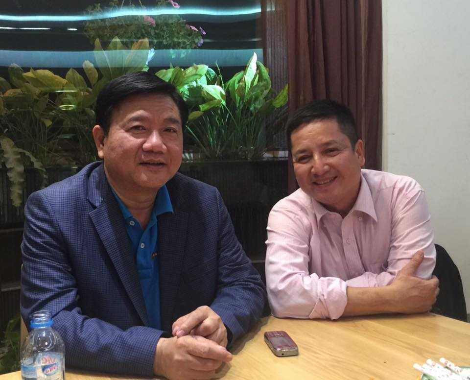 NSƯT Chí Trung chia tay tân Bí thư Thành ủy TP.HCM Đinh La Thăng.