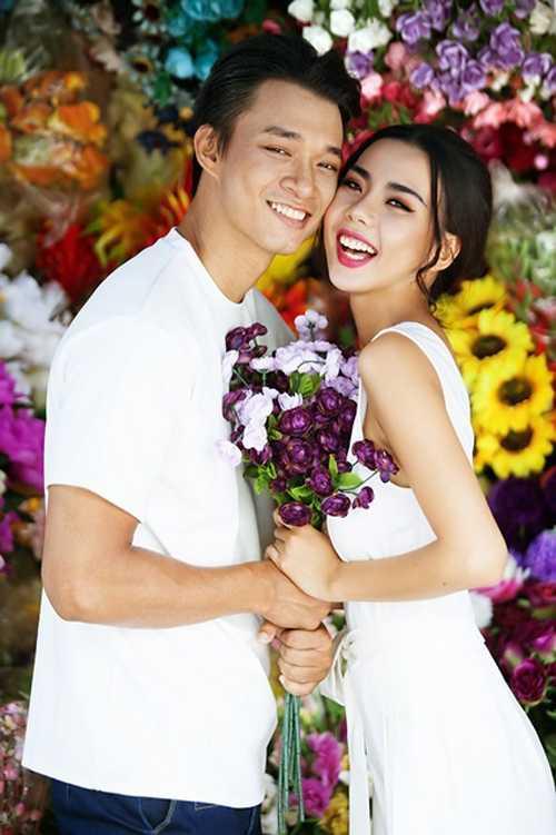 Người mẫu Vũ Mạnh Hiệp và Lại Thanh Hương