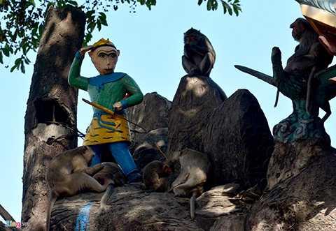 Quần thể núi Châu Thới được công nhận là di tích lịch sử văn hóa cấp quốc gia vào năm 1989. Nơi đây còn là khu vực cư ngụ của đàn khỉ rừng.