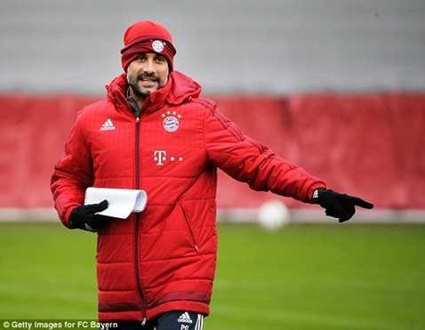 Tại Munich, sự nghiệp của Guardiola chưa thể gọi là thành công