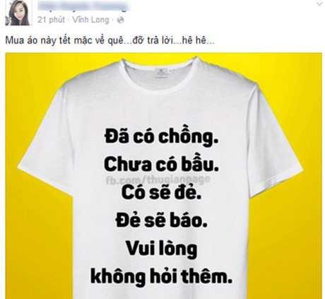 Trào lưu mặc áo 'xin đừng hỏi' khuấy đảo facebook ngày cuối năm