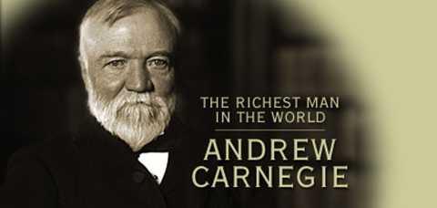 Andrew Carnegie (1835-1919) - Một đại gia người Mỹ khác - ông sở hữu khối tài sản khổng lồ thông qua việc bán lại công ty US Steel của mình cho JP Morgan vào 1901 với giá lên tới 480 triệu USD, bằng với 2,1% GDP Mỹ cùng thời điểm. Đến nay, nếu tính toán theo thay đổi tỷ giá, số tiền mà đại gia này có trong tay là gần 400 tỷ USD