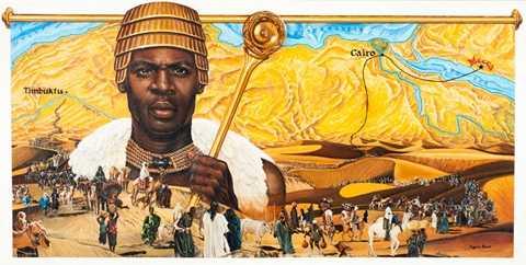 Mansa Musa (1280-1337) -  vị vua của Timbuktu, Mali được coi là người giàu nhất lịch sử - số lượng tài sản và của cải của ông nhiều đến mức không thể miêu tả nổi. Nguyên nhân là vì ông cai trị vương quốc phía tây châu Phi của Musa nhiều khả năng là nơi sản xuất vàng lớn nhất thế giới