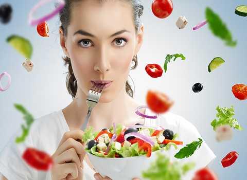 Chế độ ăn uống cũng ảnh hưởng tới nhịp sinh học của cơ thể. Ảnh minh họa
