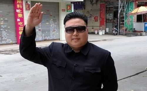 Bản sao của Kim Jong un ở Quảng Châu