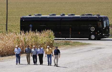 Chiếc xe dài hơn 12m, được Mật vụ Mỹ thiết kế