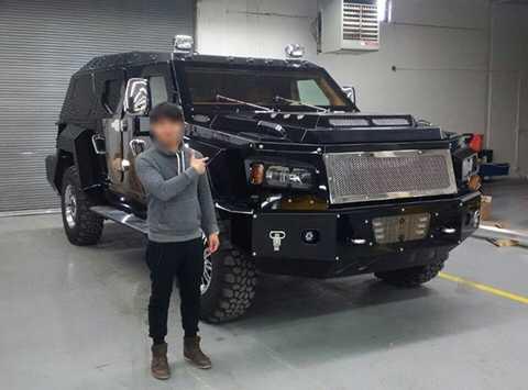 Xuất hiện thông tin xe bọc thép triệu đô Knight XV về Việt Nam