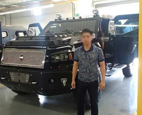 Chủ nhân của những bức hình up lên diễn đàn cũng hé lộ chiếc siêu SUV sẽ về Quảng Ninh trong thời gian tới.