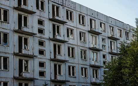 Những tòa nhà bị bỏ hoang