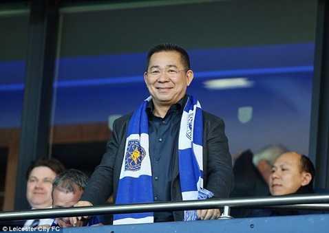 Chủ tịch Vichai Srivaddhanaprabha của Leicester City