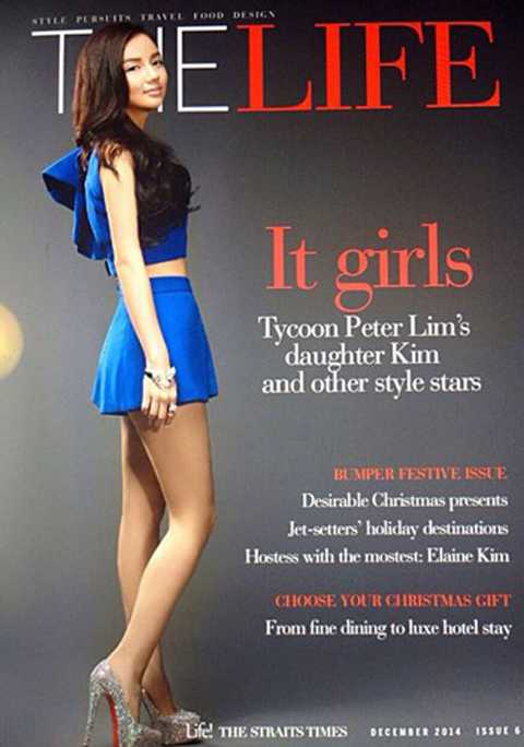 Kim Lim có niềm đam mê bất tận với thời   trang. Trong tủ đồ của mình, cô nàng thừa kế tỷ phú luôn sở hữu hàng   loạt trang phục hàng hiệu của các nhãn hàng thời trang nổi tiếng thế   giới.