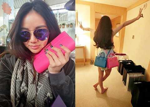 Không chỉ giàu có, Kim Lim còn khiến   nhiều người ngưỡng mộ bởi có gu thời trang thời thượng. Kim từng chia sẻ   cô rất thích dùng đồ mang thương hiệu Christian Louboutin và Chanel.   Bởi vậy, cô có khoảng 80 đôi giày hiệu Christian Louboutin và 40 chiếc   túi xách hiệu Chanel.