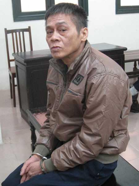 Bị cáo Phạm Ngọc Thuần tại phiên tòa