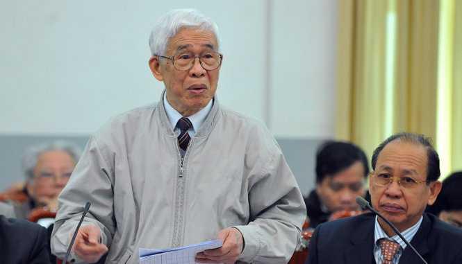 Ông Lù Văn Que cho rằng sẽ hợp lý nếu tỷ lệ 100/500 đại biểu Quốc hội là người ngoài đảng - Ảnh: Hoàng Long