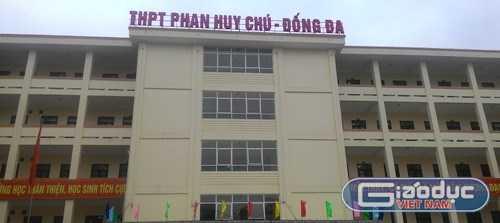 THPT Phan Huy Chú - Đống Đa.