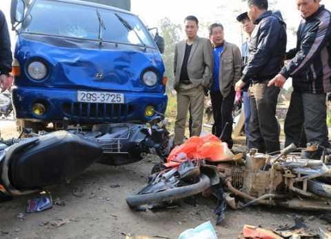 Vụ tai nạn giao thông khiến 3 người trong 1 gia đình tử vong ngày mùng 2 Tết