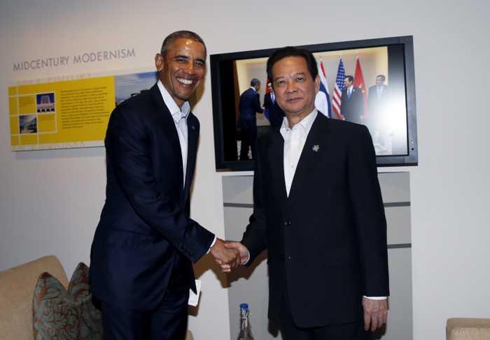 Thủ tướng Nguyễn Tấn Dũng hội kiến Tổng thống Obama