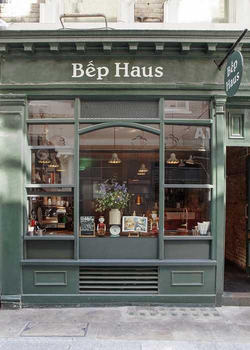 """Một góc nhà hàng """"Bếp Haus"""" của Vân."""