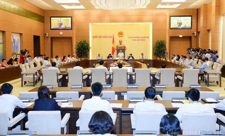 Một phiên họp Thường vụ Quốc hội