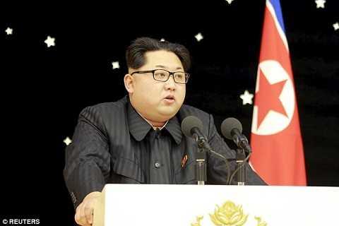 Nhà lãnh đạo Triều Tiên phát biểu tại buổi đại tiệc