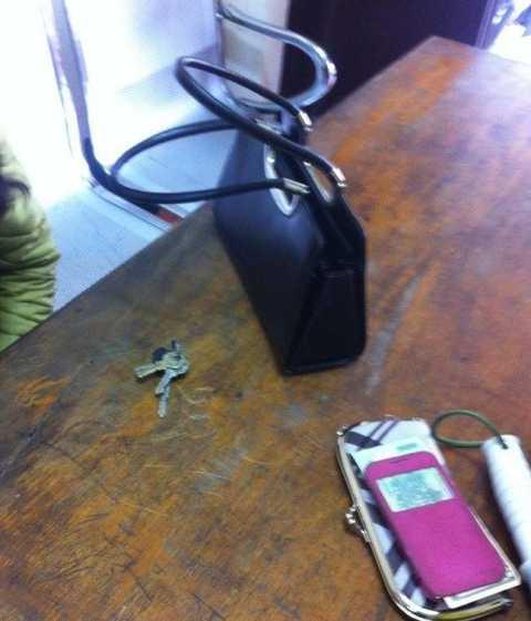Chiếc túi xách của nạn nhân
