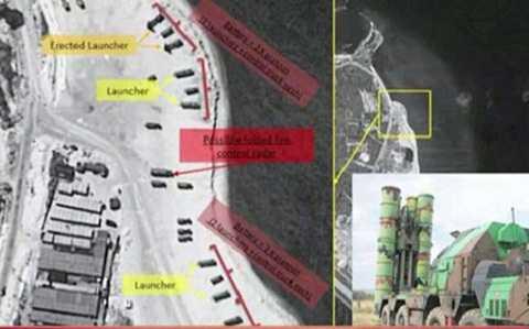 Hình ảnh tên lửa Trung Quốc trên đảo Phú Lâm  thu được từ vệ tinh ImageSat International
