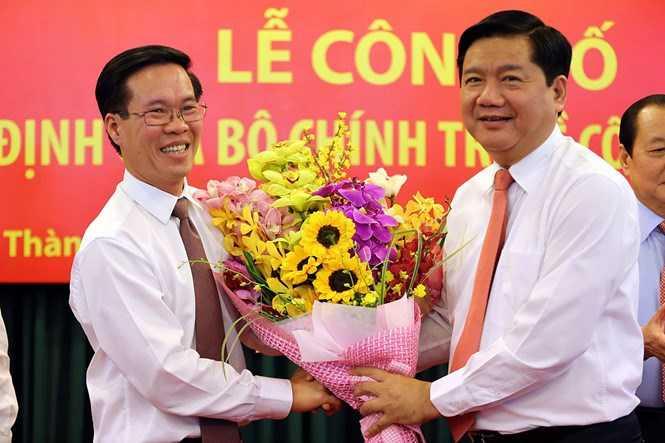 Ông Đinh La Thăng nhậm chức Bí thư Thành uỷ TP.HCM - Nguồn ảnh: Internet