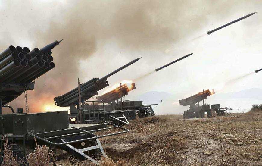 Hoạt động tập trận của Triều Tiên