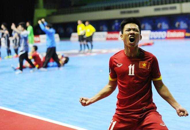 Futsal Việt Nam nên vui mừng với tấm vé dự World Cup