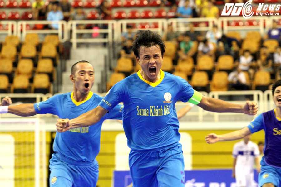 Futsal luôn xuất hiện nhiều khoảnh khắc xuất thần (ảnh: Hoàng Tùng)