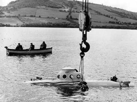 Một vụ truy tìm thủy quái Nessie ở hồ Loch Ness - Ảnh chụp màn hình Daily Star