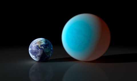 Siêu Trái Đất có kích thước gấp đôi Trái Đất của chúng ta.