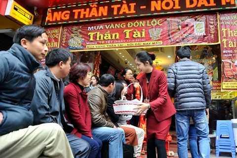 Thị trường vàng chỉ sôi động trong ngày Vía Thần Tài.