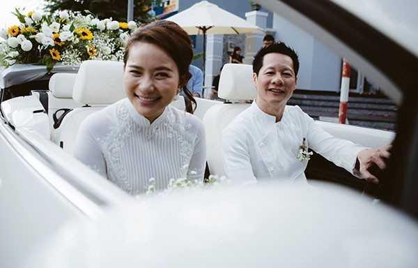 Lễ đính hôn của người đẹp sinh năm 1988 và chồng cũ Ngọc Thúy diễn ra vào tháng 11/ 2015. Ảnh: FBNV