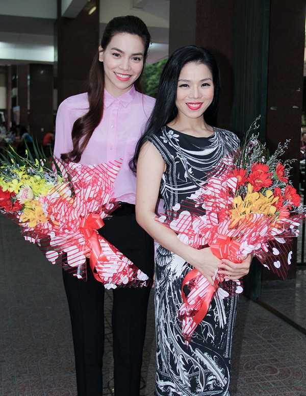 Lệ Quyên và Hồ Ngọc Hà từng là đôi bạn thân của showbiz Việt.